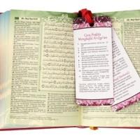Jual Al-Quran Azalia A6-agenda, AlQuran Muslimah - Syamil Quran Murah
