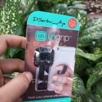 Ungrip - Polyester Phone Strap(Black Abstrak) - New Pattern Collection