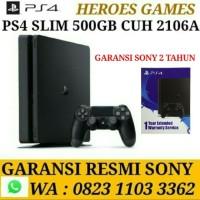Jual PS4 Slim 500GB BNIB Garansi Resmi Sony Indonesia Murah