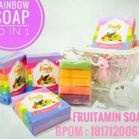 Jual Sabun Fruity Fruitamin 10in1 BPOM Rainbow Soap Murah