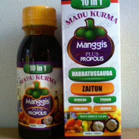 Jual Madu Kurma Habbatussauda Zaitun Xamthone Manggis+propolis  Murah