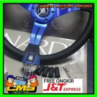 paket 2 in 1 paket Stir dan gear knob Racing Nardi tori Original