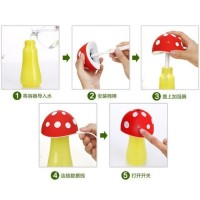 Jual Harga Promo Mushroom Night Light Air Humidifier, Jamur humidifier Murah