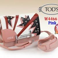 Tas selempang wanita Bag Tods Mini Double T W4466