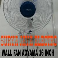 kipas angin dinding /tembok / wall fan AOYAMA 16 inch