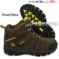 SNTA 476 Sepatu Gunung / Sepatu Hiking / Sepatu Outdoor Brown-Yellow