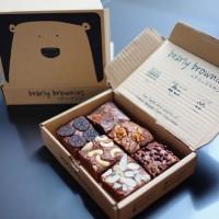 Mix Bearly Brownies (Mini) box. 6pcs