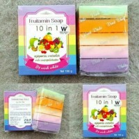 Jual Fruitamin Soap 10 in 1 By Wink White Murah
