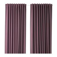 Jual Gorden Blackout Ungu IKEA MAJGULL Anti Tembus Cahaya BlockOut Curtains Murah