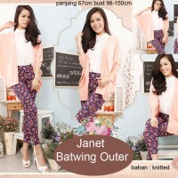 Jual Promo Murah Baju wanita Janet Batwing Outer Terbaru Murah