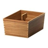 Jual Ikea Variera Kotak Bambu Dgn Gagang 33x24cm Box w Handle Termurah Murah