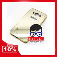 Jual LIMITED EDITION Bumper mirror case Samsung E5 - GOLD Murah