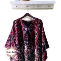 Jual Top Bohemian Ikat Jepara kombinasi Doby Batik Batak Murah