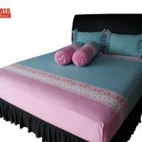 SORAYA Bedsheet - Sprei Karet Stella Biru