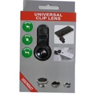 Jual PROMO Universal Clip Lens 3 in 1 (Macro, Wide, Fish Eye) Murah