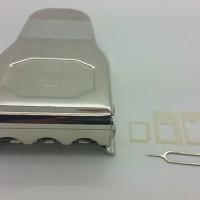 Jual limited Triple sim card cutter / pemotong simcard 3 in 1 micro nano Murah