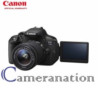 Kamera DSLR Canon EOS 700D With EF-S 18-55mm IS STM
