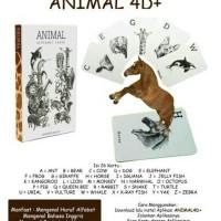 Jual Kartu Animasi Animal 4D Terbaru Murah