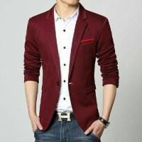 Blazer Zara Man Maroon Limited