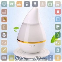 Jual Mini Ultrasonic Air Humidifier Aroma Therapy - White`8X8KRL- Murah