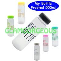 Jual My Bottle Frosted  / Botol Minum Infused ( HANYA BOTOL ) Murah