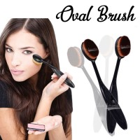 Jual OVAL FOUNDATION FACE BRUSH ( make up brush ) Murah
