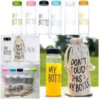Jual [TANPA BOX ] MY BOTTLE / Infuse water FREE BAG  / sisa 17 warna RANDOM Murah
