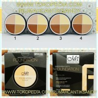 Jual MENOW ~ ME NOW Foundation / FONDATION Concealer / shading contouring Murah