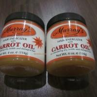 Jual JUAL MURRAY'S HAIR ENERGIZER CARROT OIL | FREE SISIR SAKU Murah