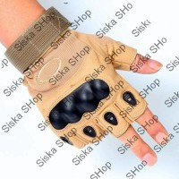 Jual GROSIRAN !! Glove / Sarung tangan Oakley Half finger Airsoft Murah