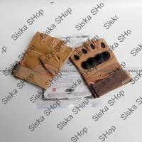 Jual GROSIRAN !! Glove Oakley Half Finger Sarung Tangan Tactical Airsoft Gu Murah