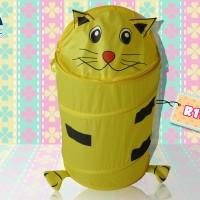 Laundry Bag 3D Model Kucing Kuning