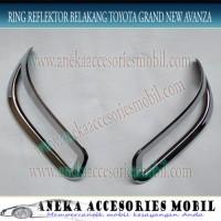 Jual Unik Ring Cover Garnish Reflektor Bumper Belakang Toyota Gra GO-13G Ha Murah