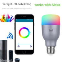 Lampu Jutaan Warna Xiaomi Yeelight 2 Colorful LED Smart Light Bulb