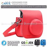 Jual EXCLUSIVE Fujifilm Kamera Instax Mini 9 Leather Bag Tas Case TERMURAH Murah