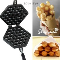 Jual paling Murah Cetakan kue Egg Waffle bapel / Egg Waffel pan hongkong la Murah