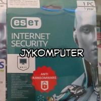 Jual (Sale) Internet Security ESET 1 PC / 1 Tahun - Anti Ransomware Resmi Murah