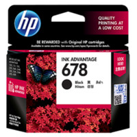 Tinta Cartridge HP 678 Black Original untuk printer HP 1515 2545