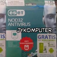 Jual Antivirus ESET NOD32 1 PC / 1 Tahun - ORIGINAL - Anti Ransomware Murah