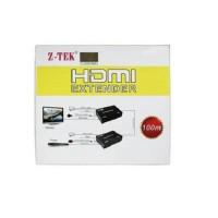 (Murah) ZTEK HDMI Extender 100M
