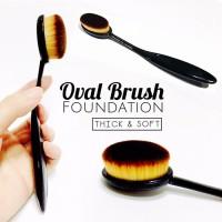 Jual OVAL MAKE UP BRUSH / KUAS Oval blending brush Murah