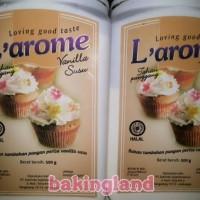 Jual Vanili Susu Larome Untuk Cake Kue Dan Puding Murah