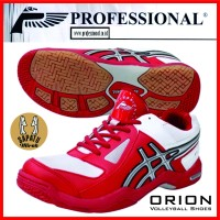 volleyball shoes ORION Professional series RED