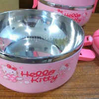 Jual (Sale) Lunch box 4 layer/ rantang makan susun 4 karakter Hello Kitty Murah