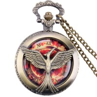 Jual Kalung Jam Pocket Vintage Hunger Games pocket watch vintage quartz Murah