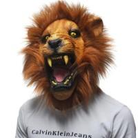 Topeng Singa Lion reog halloween haloween pesta maung macan raja hutan