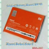 Jual Paling Laris : Original Battery Xiaomi Redmi Note2 Note 2 BeeM 45 BM45 Murah