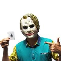Jual Topeng joker mask batman superman suicide squad bahan latex full head Murah