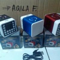 Jual Speaker Audio al qur'an hafalan murottal 30 juz anak kotak kecil warna Murah