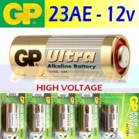 TERBARU Baterai GP 23AE 12v ULTRA Alkaline Batere Remote Battery A23